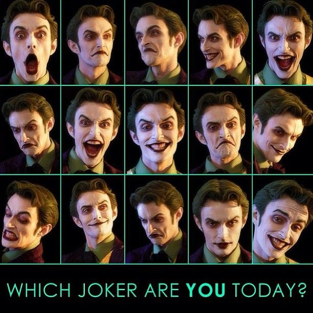 Which Joker are you today? #TheJoker #AnthonyMisiano