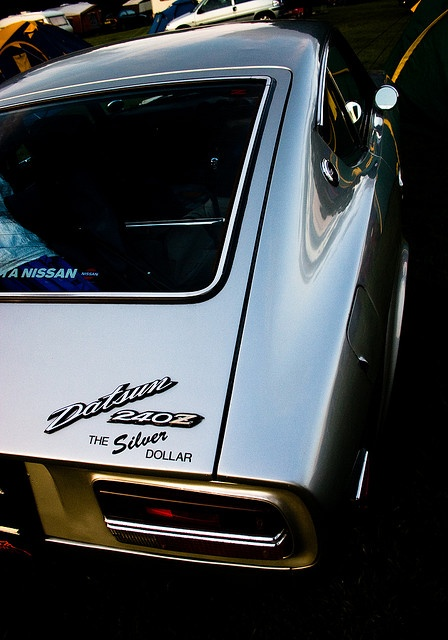 """""""Silver Dollar"""" (Datsun 240Z) that came in the mail yesterday!"""