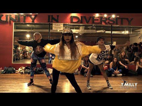 ▶ Nicki Minaj - Anaconda - Choreography by Tricia Miranda ft @kaelynnharris | @nickiminaj @timmilgram - YouTube