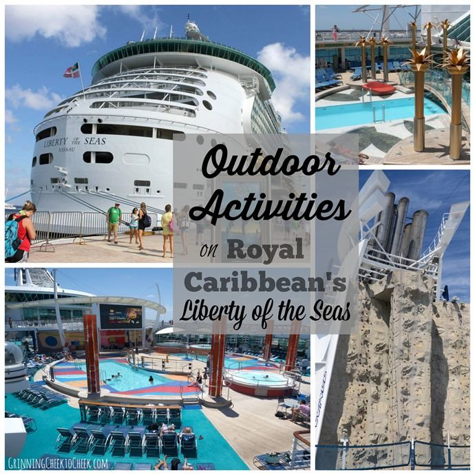 Outdoor Activities on Royal Caribbean's Liberty of the Seas #SeastheDay - Grinning Cheek to Cheek