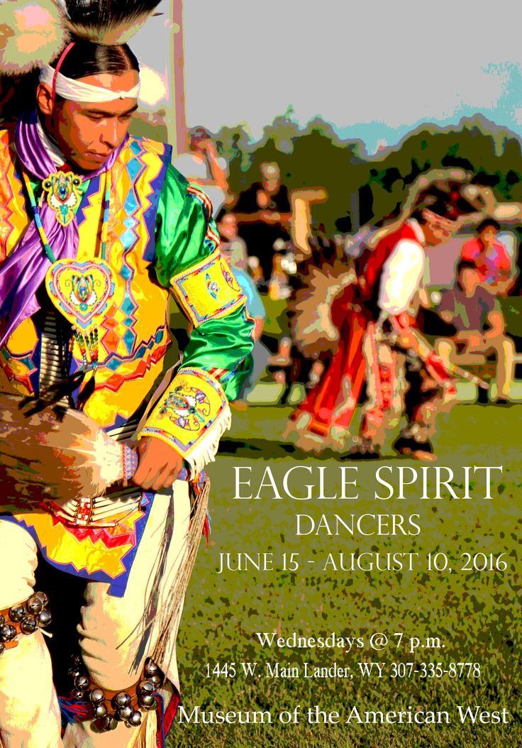 The Eagle Spirit Dancers perform every Wednesday