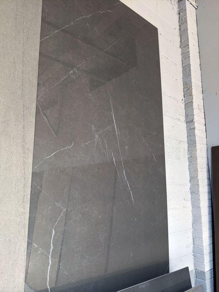Dark Gray Polished Porcelain Tile in 2020 Luxury