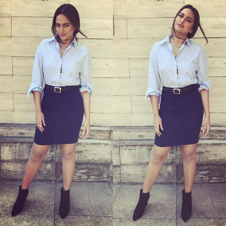Sonakshi Sinha Looks Chic And Stunning