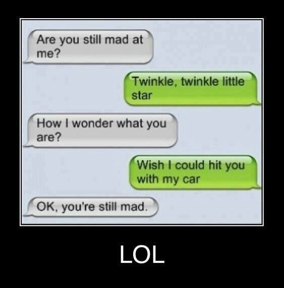 Text message very funny