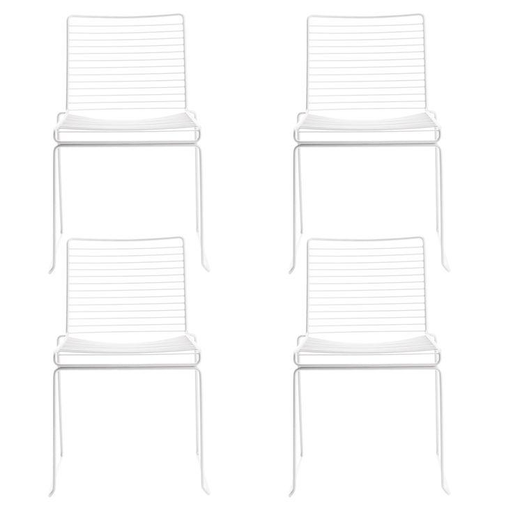 4-pakk - Hee Dining stol, hvit i gruppen Møbler / Stoler / Stoler hos ROOM21.no (SA000340)