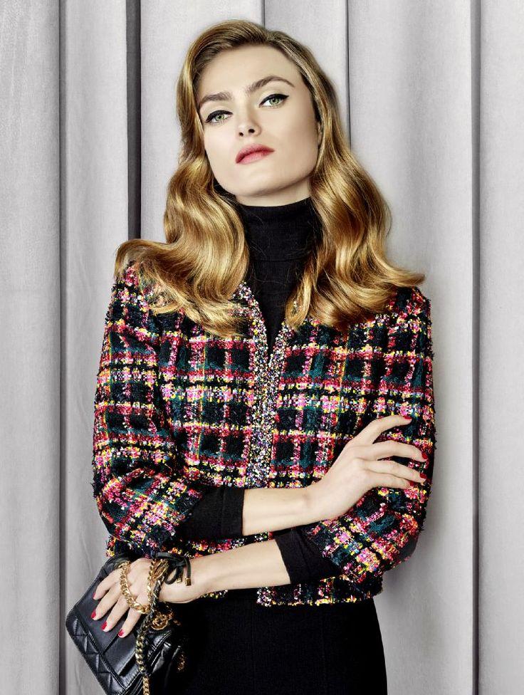 La veste à carreaux pour un sans faute signé Weill , Collection automne/hiver 2015