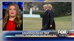 Gold Star Wife Salutes Trump's Unannounced Visit to Honor Fallen Navy SEAL | Fox News Insider