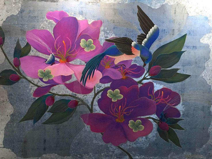 """Spring Delight"" by Cheryl Petersen www.tuskgallery.com.au"
