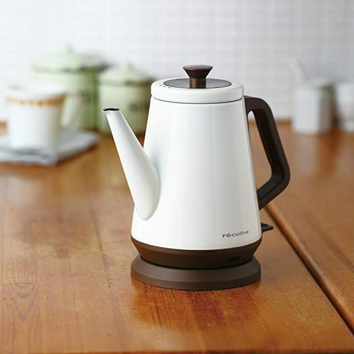 キッチンに置くだけで美しい おしゃれな 電気ケトル おすすめブランド8選 電気ケトル デザイン家電 レコルト