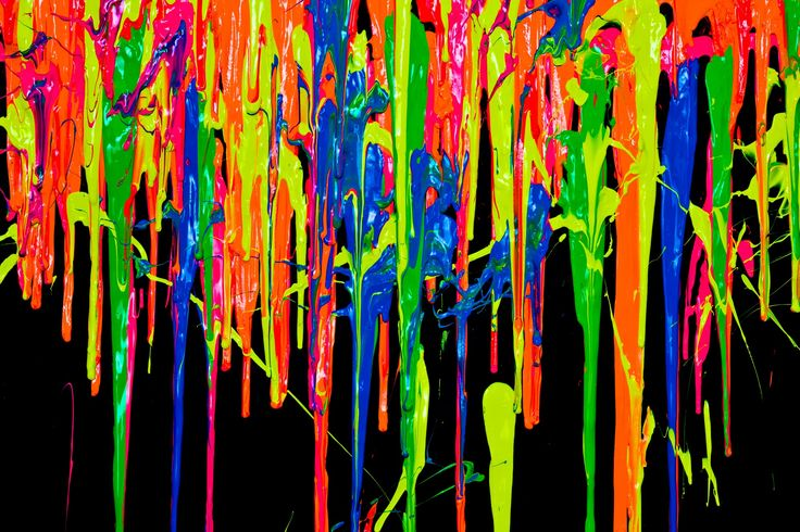 dripping paint wallpaper - photo #2