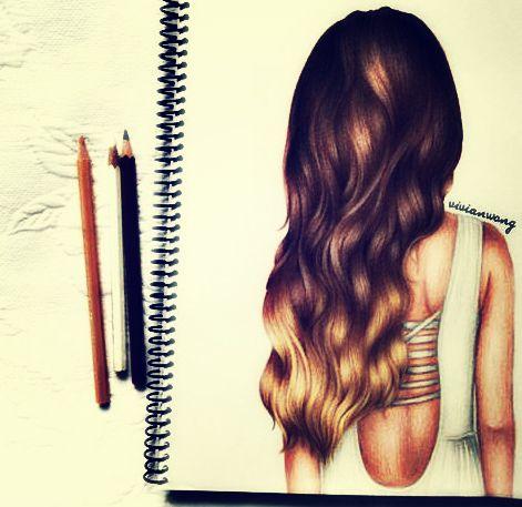 drawing of girl