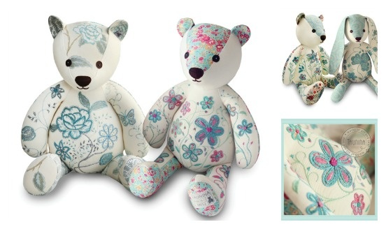 Beautifully crafted bears from Taunina