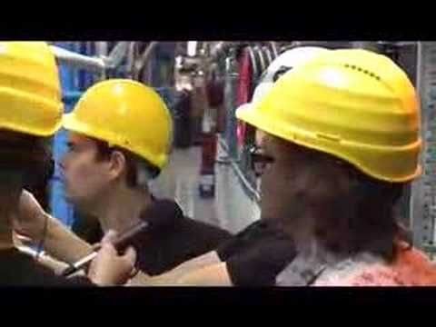 Kevin Eldon and Simon Munnery at CERN.  Also, Brian Cox being his badass self.