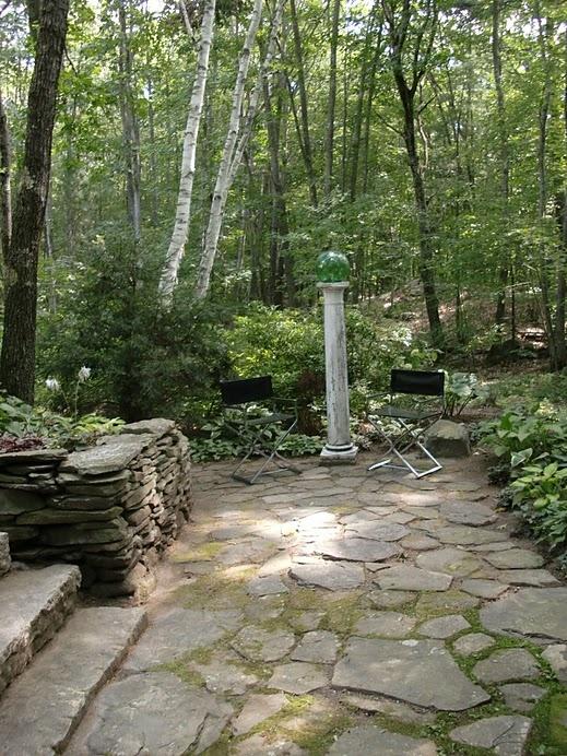 Stones & Moss: Stones Stuff, Stacking Stones, Stones Wall, Maine Cottage, Gardens Elements, Stones Walkways, Gardens Delight, Stones Patio, Wind Roads