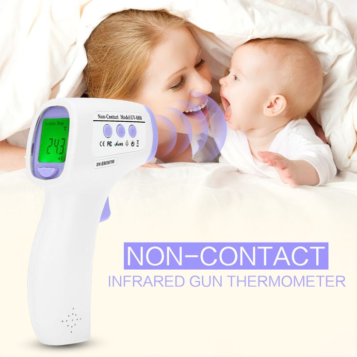 Professional Digital LCD Infrared Thermometer Non-contact IR Temperature Measurement