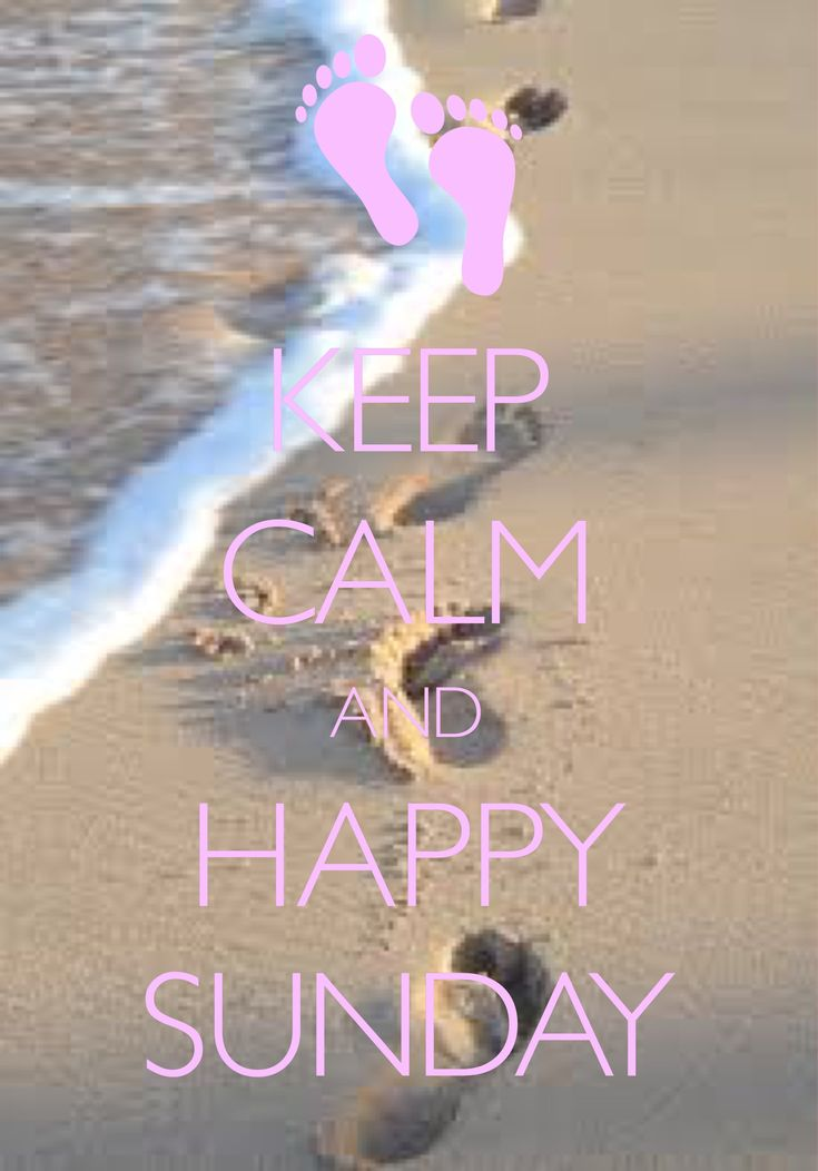 keep calm and happy Sunday / created with Keep Calm and Carry On for iOS…