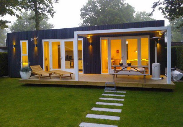 Een huisje aan zee: zelf ontworpen, gebouwd en ingericht door mijn broertje en schoonzusje!!!