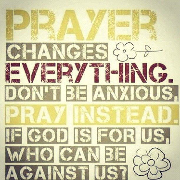 Prayer changes everything :: Islamic Quotes with Images