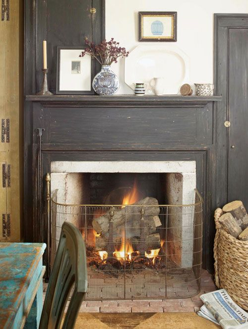 588 best mantels images on pinterest beautiful things for Country home and hearth