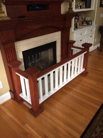 Fireplace Barrier | Do It Yourself Home Projects from Ana White