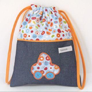 Me encanta esta bolsa para la merienda del peque