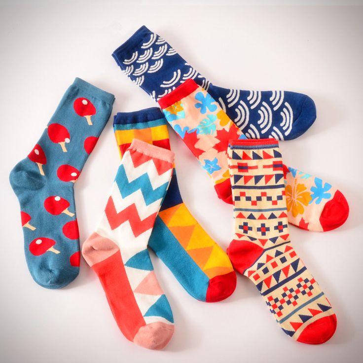 Pop Colour Pattern Socks from Ice Cream Cake