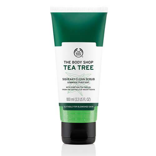 Body Shop Tea Tree Oil Squeaky Clean Scrub