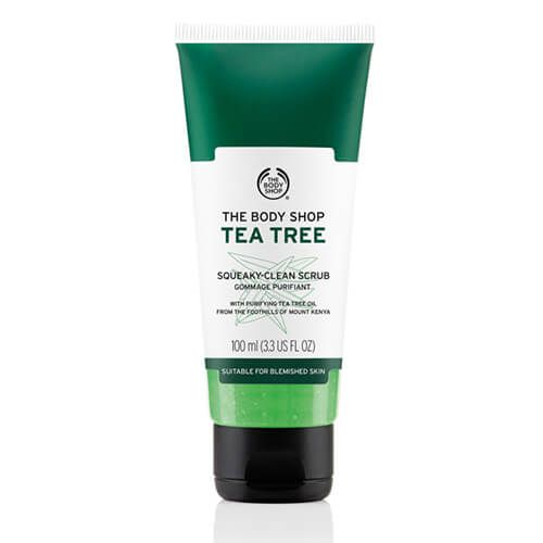 Body Shop Tea Tree Oil Squeaky Clean Scrub