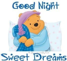 good night sweet dreams quotes cute quote night winnie the pooh good night