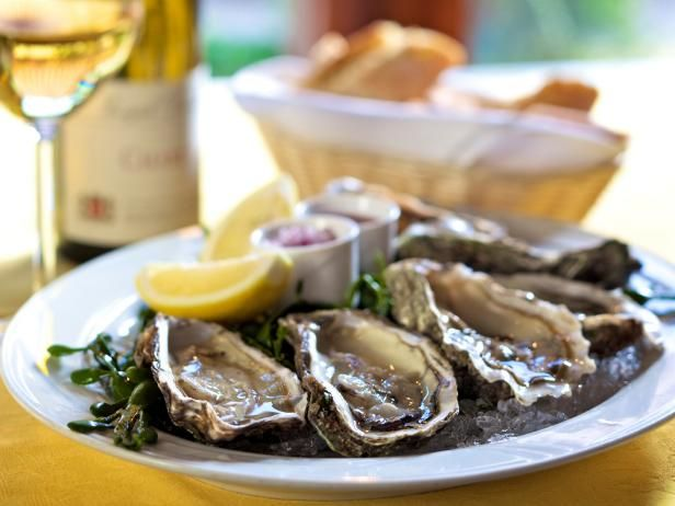 Complement raw oysters with a simple yet tasty sauce made from shallots, lemon juice, peppercorns and vinegar. Get the recipe on HGTV.com.
