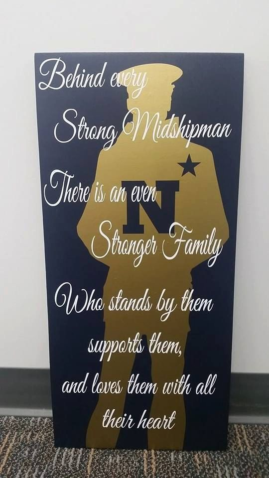 U.S. Naval Academy / USNA Midshipman Family by BeachBettyDesigns