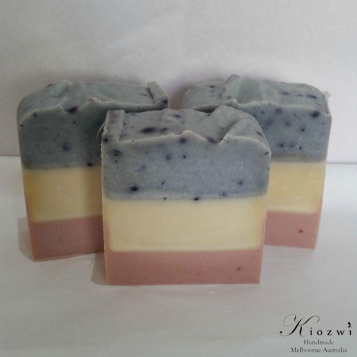 Lavender Ylang Ylang Geranium Goats Milk Soap  http://www.kiozwi.com.au/goats-milk-soaps-essential-oils/