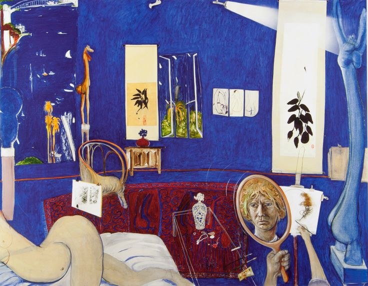 For all art enthusiasts, a fascinating new doco about Brett Whiteley has just hit select cinemas.     To find out the stories behind your fine art collection, why not visit us online!   www.angelatandorifineart.com     Brett Whiteley - 'Self Portrait in Studio', reproduction print on paper   #brettwhiteley #fineart #art #australianart #film #whiteley #documentary #melbourne #value #valuingfine #selfportrait