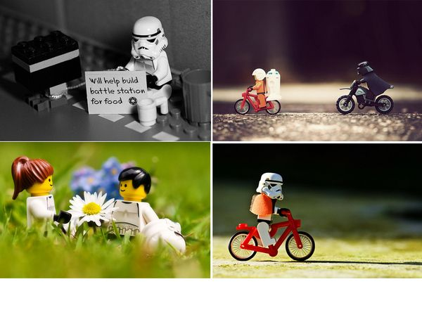 Best LEGO PHOTOGRAPHY Images On Pinterest Lego Photography - Adorable chipmunks go on playful adventures with lego star wars toys