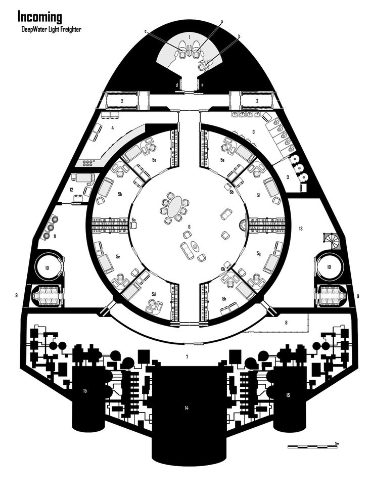 Incoming by stargate525 | SWN - Starship & Space Station Maps & Deck Plans in 2019 | Deck plans, Spaceship design, Trek deck
