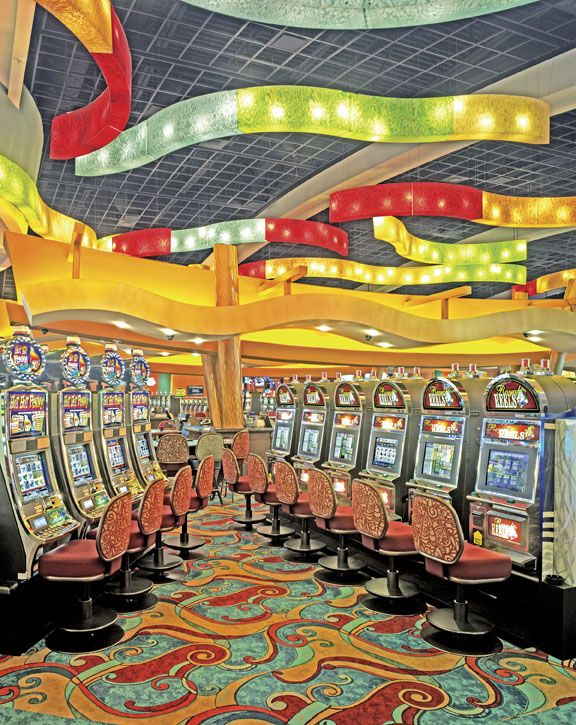 Oklahoma Casino Hotels Map