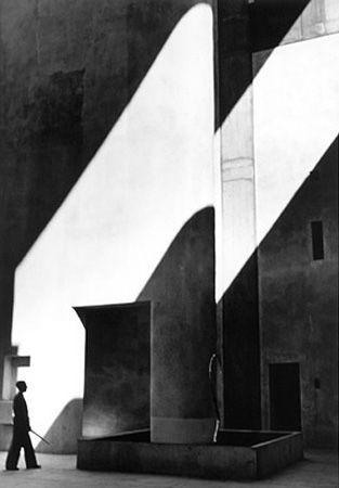 Lucien Herve, Haute Cour à Chandigarh 1955, Le Corbusier