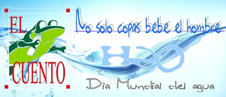 Día Mundial del Agua en El Cuento Bar. Madrid. Salir de copas por Madrid. No solo de copas vive el hombre