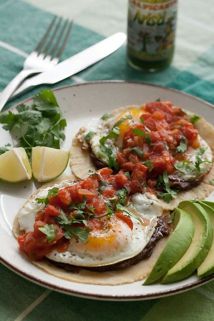Huevos Rancheros by Isabelle @ Crumb, via Flickr