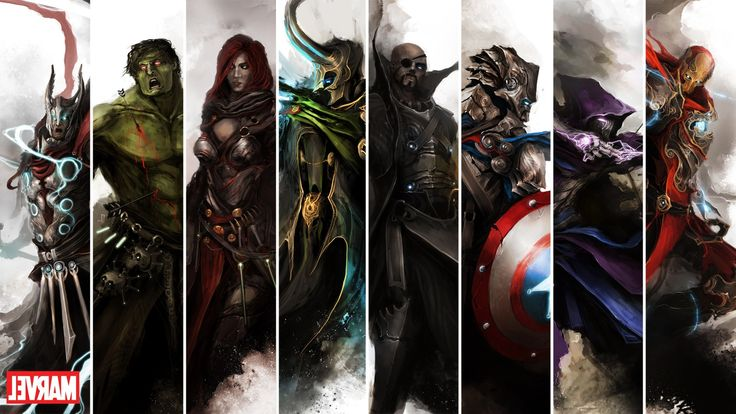 Download hd wallpapers of 33693-Marvel Comics, The Avengers. Free download High Quality and Widescreen Resolutions Desktop Background Images.
