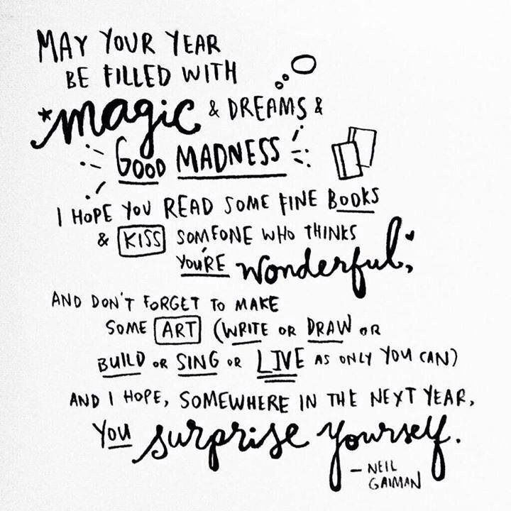 Neil Gaiman New Year Quotes: 24 Best Happy New Year ! Images On Pinterest