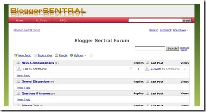 Adding a Nabble embeddable forum to Blogger www.BloggerSentral.com