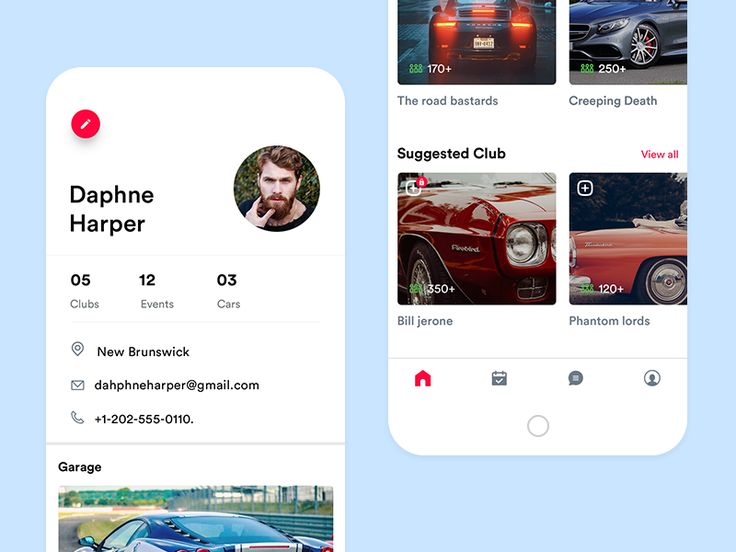 Car Community App Profile