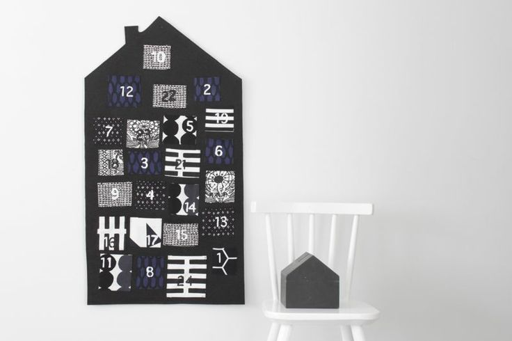 Great advent calendar idea - Marimekko fabric. It's never to early to plan some holiday crafting