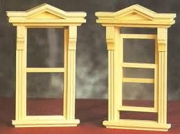 Dollhouse Windows From Fingertip Fantasies Miniatures
