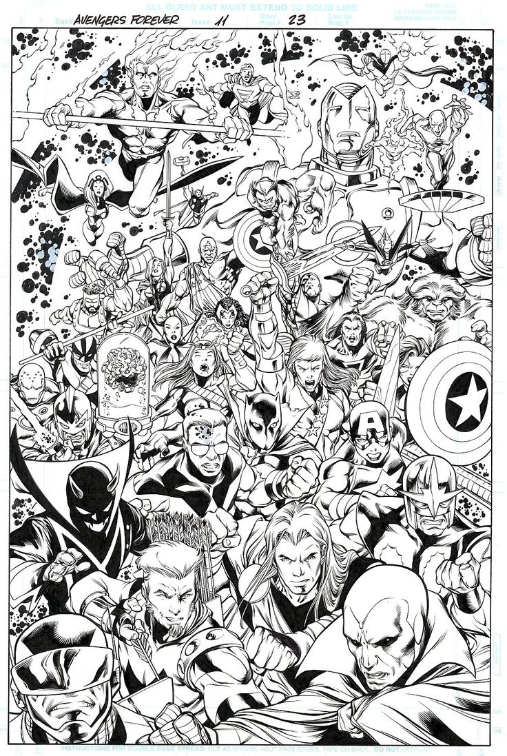 212 best Lineart Avengers images