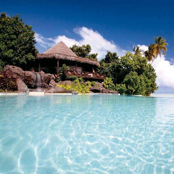 Hotel, dulce hotel. Islas Cook.
