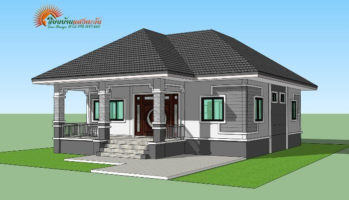 For Those On A Budget Elegant 3 Bedroom Single Storey House Ulric Home Philippines House Design Modern Bungalow House Bungalow Style House Plans Low budget modern house plan