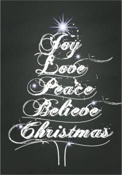 Christmas Chalkboards – Rainbow Magic