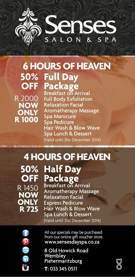 Summer Specials at the Spa